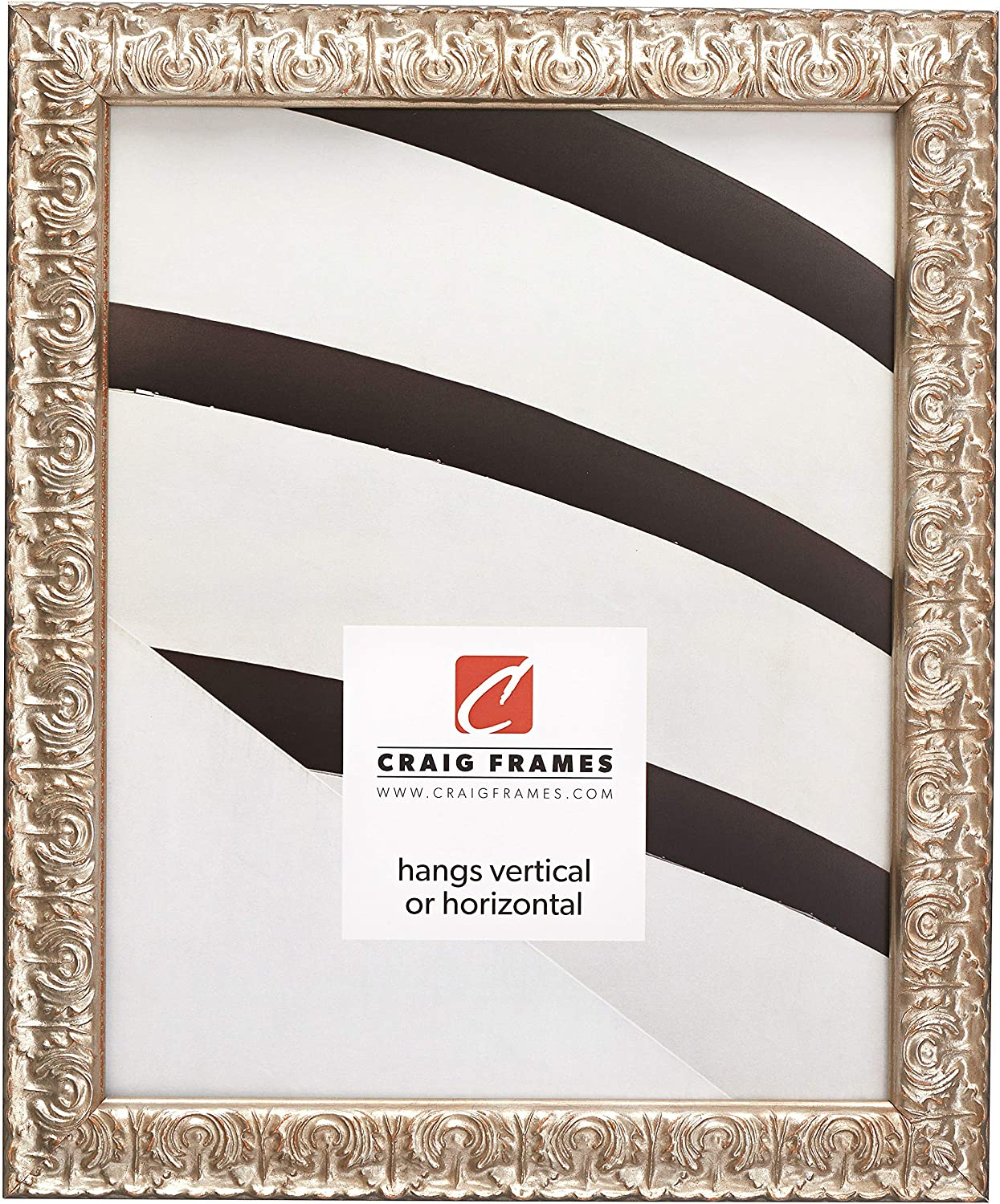 Craig Max 67% OFF Frames Max 60% OFF Versailles Picture Frame 20 x Inch Silver 14