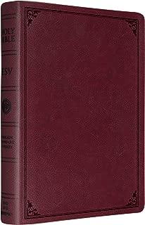 ESV Single Column Legacy Bible (TruTone Burgundy, Frame Design)