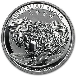 2014 AU Australia 1 oz Silver Koala (Chinese Privy) 1 OZ Brilliant Uncirculated