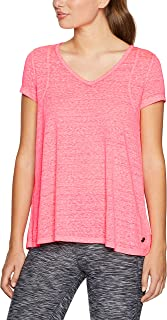 Calvin Klein Women's Pleat Back Icywash Tshirt