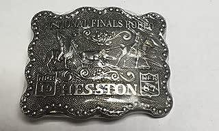 1987 Hesston/National Finals Rodeo Belt Buckle Team Roping