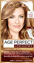 L'Oreal Paris ExcellenceAge Perfect Layered Tone Flattering Color, 7G Dark Natural Golden Blonde (Packaging May Vary)