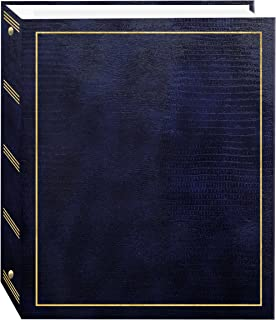 Pioneer Photo Albums Plastic Photo Album (8.25 x 10.5 inch, Navy Blue)