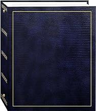 آلبوم های عکس Pioneer آلبوم عکس های مغناطیسی 3 حلقه ای 100 برگ (50 برگه) ، آبی نیروی دریایی