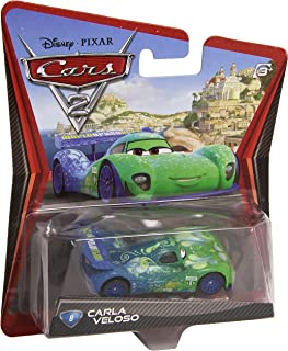 Disney/Pixar Cars 2 Movie Die-Cast Vehicle, Carla Veloso #8, 1:55 Scale