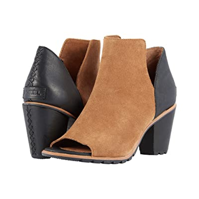 SOREL Nadia Bootie (Camel Brown) Women