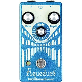 EarthQuaker Devices Aqueduct Pitch Vibrato Guitar Effects Pedal