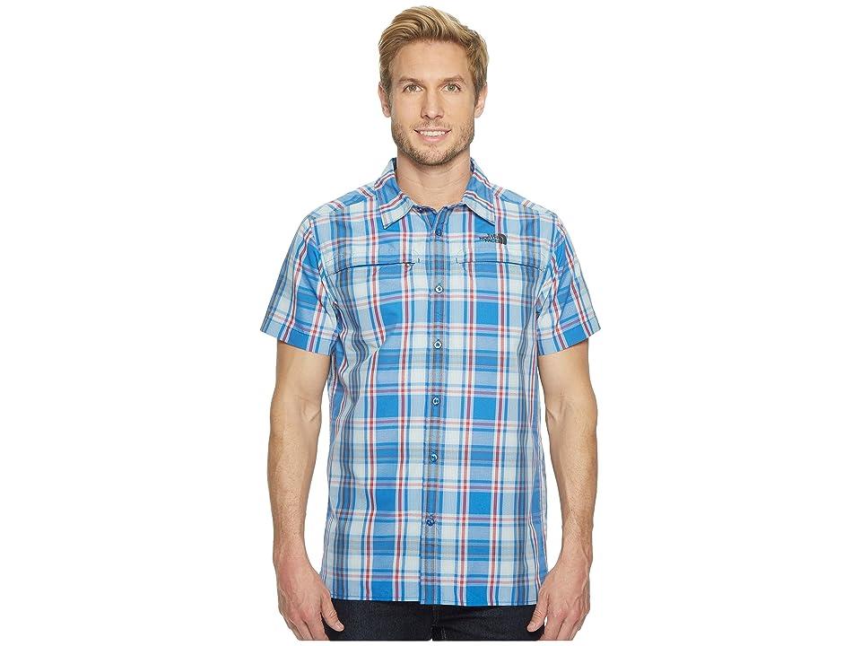 The North Face Short Sleeve Vent Me Shirt (Turkish Sea Plaid) Men