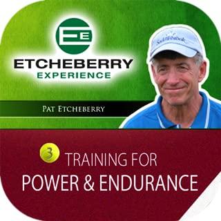 Tennis Training for Power & Endurance Pat tcheberry