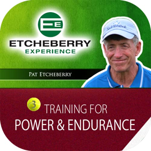 Tennis Training for Power & Endurance Pat tcheberry