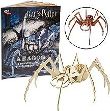 Harry Potter Aragog Book & Wood Model Figure Kit - Build & Paint Your Own Movie Toy Model - Puzzle Interlocking Pieces - K...