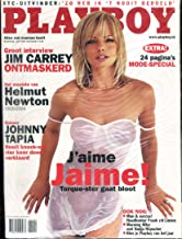 Playboy Netherlands International Magazine Jaime Pressly / Jim Carrey April 2004