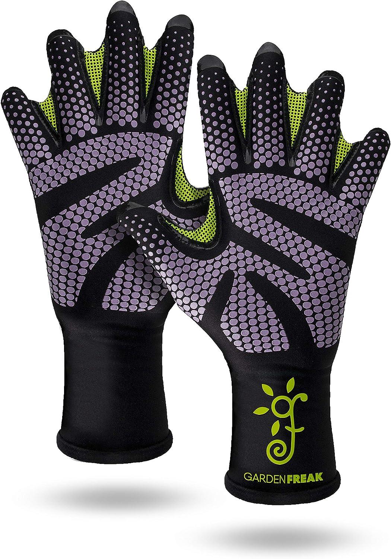 Grip Gardening Gloves Webbed Premium Glove Elegant Thea Stylish b Rubber Special price