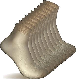 10 Pares Calcetines medias cortas, medias cortas para mujer transpirables…