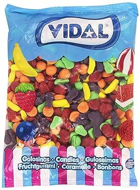 Vidal - Caramelo de Goma con Frutas, 1 kg