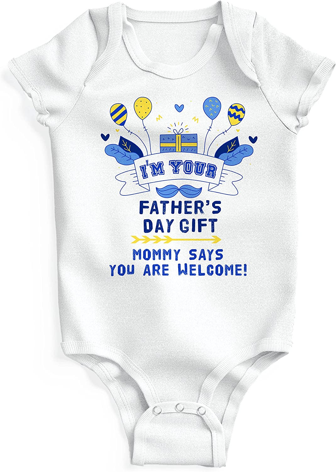 Milwaukee Mall Baby's Onesie Bodysuit I'm Your Gift Day U Ranking TOP10 Short-Sleeve Father's