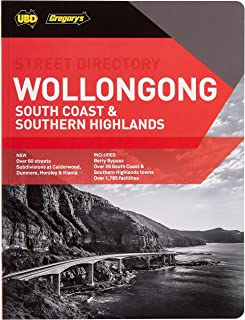 Wollongong, South Coast & Southern Highlands Street Directory 24th ed