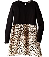 Roberto Cavalli Kids - Leopard Print Dress (Big Kids)