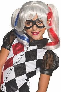 DC Superhero Girls Harley Quinn Wig