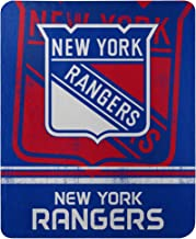 Northwest NHL New York Rangers 50x60 Fleece Fade Away DesignBlanket, Team Colors, One Size