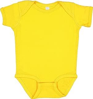 Soft Baby Rib Short-Sleeve Bodysuit