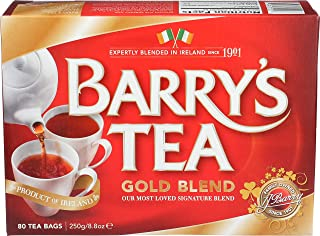 Barry's Gold Blend Irish Tea, 80-Count Tea Bags (Pack of 3)