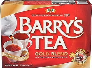 Barry's Gold Blend Irish Tea, 80-Count Tea Bags (Pack of 3)