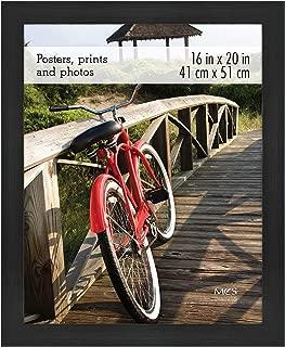 MCS 68860 Poster Frame, 16 x 20 Inch, Onyx Woodgrain