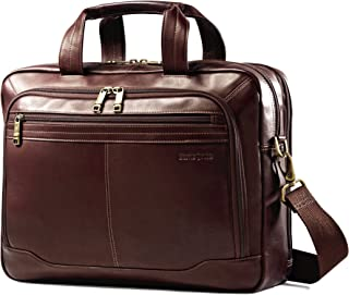 Samsonite Samsonite Colombian Leather Toploader, Brown, One Size
