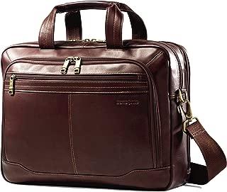 Samsonite Colombian Leather Toploader, Brown (Brown) - 50792-1139
