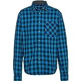 CMP Flanellhemd mit Langen Ärmeln. L River-Blau Ink