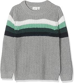 NAME IT Nmmnitus LS Knit suéter para Niños