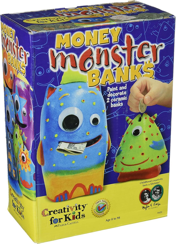Atlanta Mall Creativity for Kids Kit Banks - Monster Money Max 40% OFF