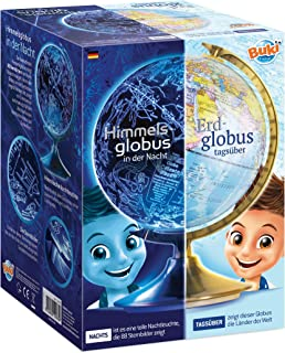 BUKI France 7345DE Globus Tag und Nacht