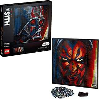 LEGO 31200 Art Star Wars The Sith Collectors DIY Poster, Wall Décor, Multipart Canvas, Set for Adults