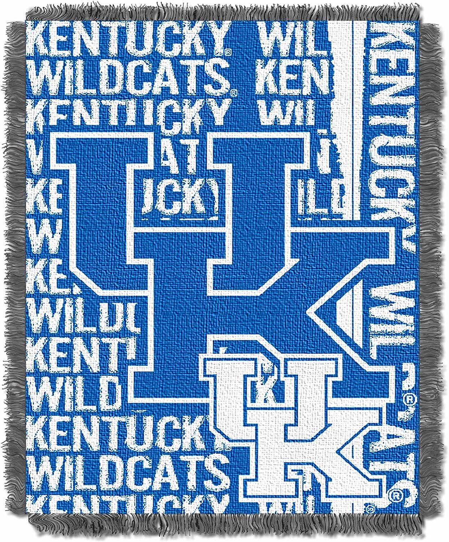 Kentucky Jacquard Woven Throw Blanket