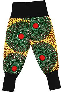Aikaplus Unisex Child Kids Traditional African Baby Print Pants Dashiki Tribal Toddler Pants