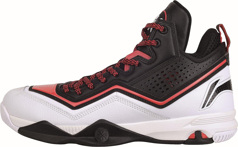 Li Ning Basketball Schuh Wade Fission schwarz rot Sportschuhe