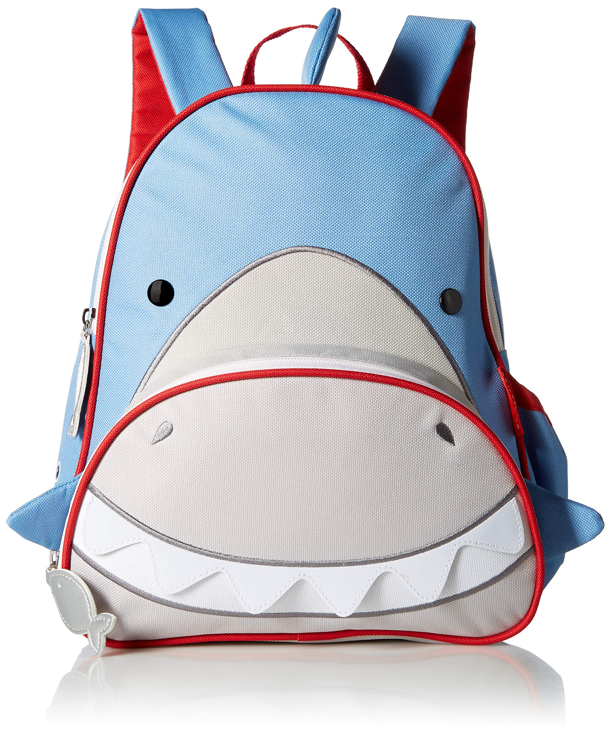 스킵합 상어 책가방, 12인치 Skip Hop Toddler Backpack, 12 Shark School Bag, Multi