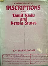 A topographical list of inscriptions in the Tamil Nadu and Kerala states