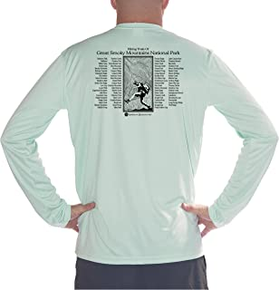 American Backcountry Men's Smoky Mountain National Park UPF 50+ Long Sleeve T-Shirt