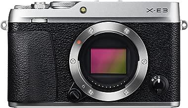Fujifilm X-E3 Body Only - 24.3 Megapixel Mirrorless Camera, Silver