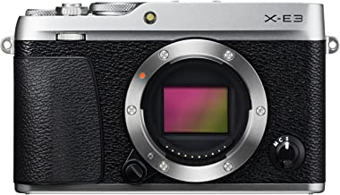 Fujifilm X-E3 Mirrorless Digital Camera, Silver (Body Only)