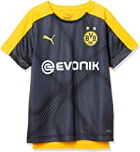 PUMA BVB League Stadium Jersey Jr with Evonik - Maillot Unisex niños