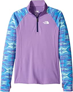 The North Face Kids Pulse 1/4 Zip (Little Kids/Big Kids)