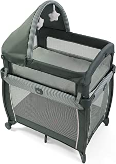 Graco My View 4 in 1 Bassinet | Baby Bassinet with 4 Stages, Including Raised Bassinet at..