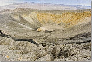 Death Valley National Park, California - Ubehebe Crater A-9001355 (20x30 Premium 1000 Piece Jigsaw Puzzle, Made in USA!)