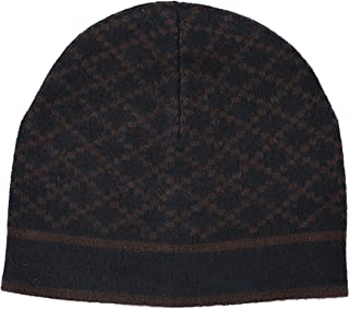 Unisex Multi-Color 100% Wool Beanie Hat One Size