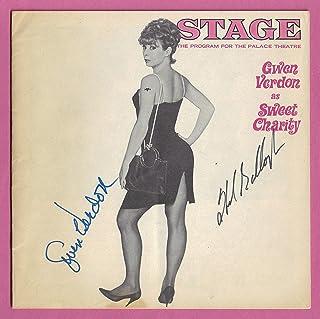 """Gwen Verdon (Signed)""""SWEET CHARITY"""" Helen Gallagher/Cy Coleman 1966 Broadway Program (Playbill)"""