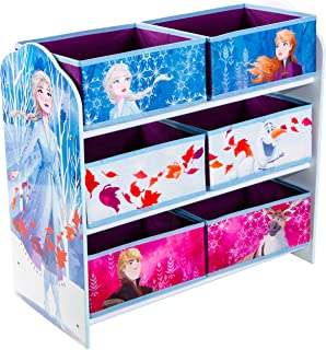 Disney Meuble de rangement pour chambre d'enfant avec 6 bacs, (Annäherungswerte: 63,5 (B)x 60 (H)x 30cm (T)